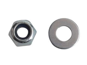Nyloc Nuts & Washers Zinc Plated M3 ForgePack 60
